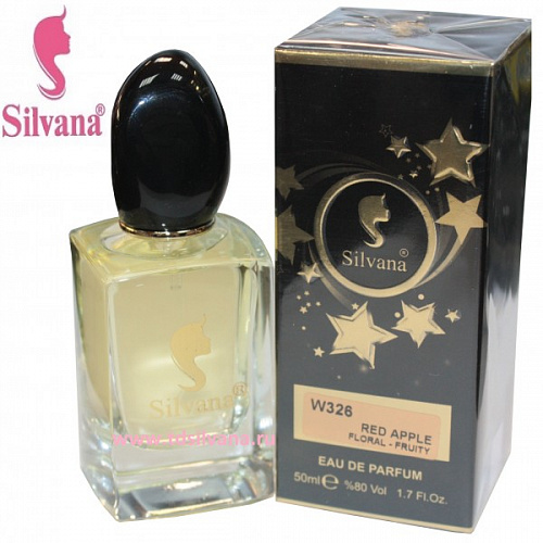 "326-W ""SILVANA"" RED APPLE FLORAL-FRUITY"