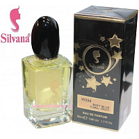 "334-W ""SILVANA"" SOWT BLUE FLORAL-FRUITY"